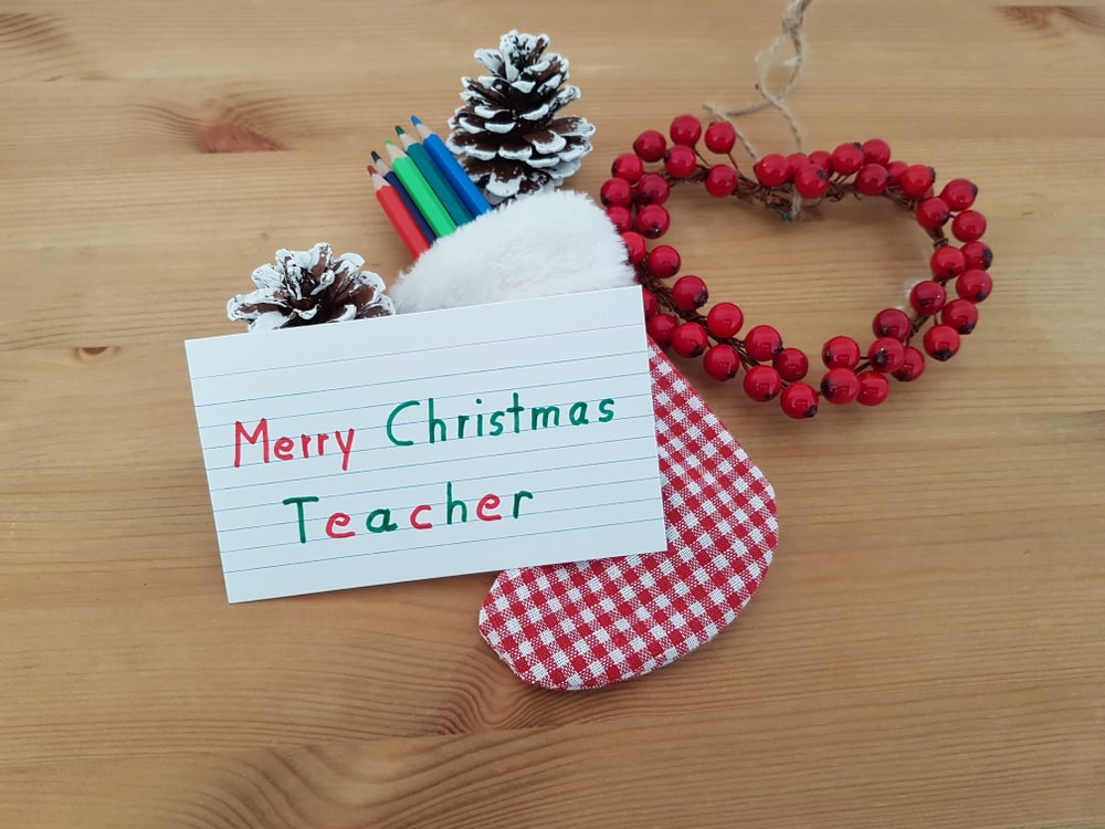 Merry Christmas Teacher